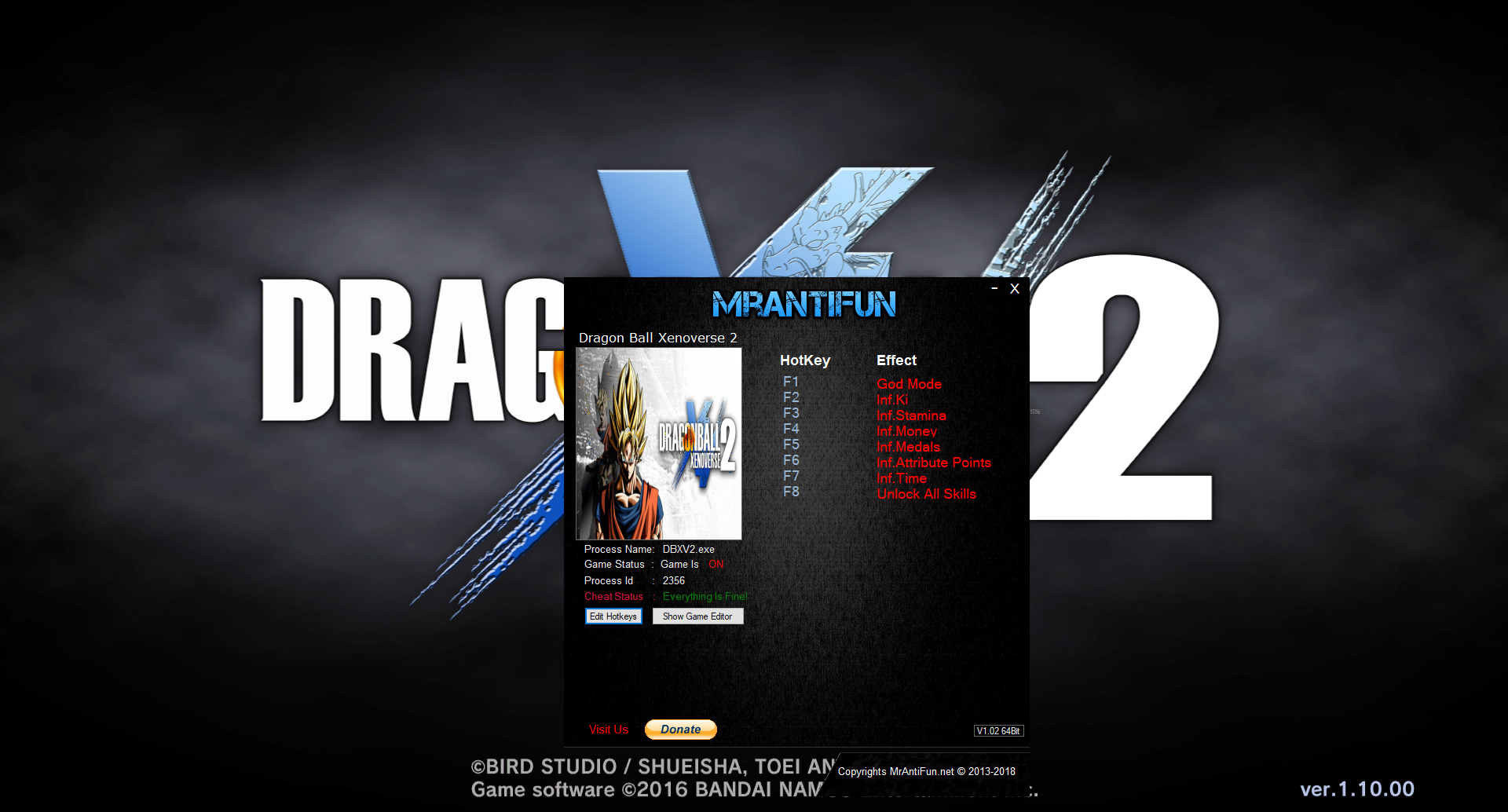 Ammco bus : Download trainer dragon ball xenoverse 2 mrantifun